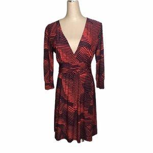 Veronicam Women's 3/4 Sleeve Dress Sz S